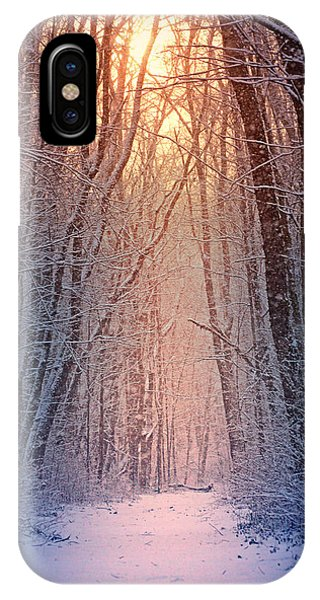 Winter iPhone Case - Winter Pathway by Rob Blair