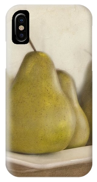 Winter Pears IPhone Case