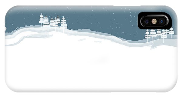 Winter Pines IPhone Case