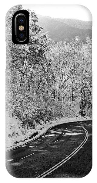 Winter Road - Virginia IPhone Case