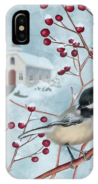 Winter Scene I IPhone Case