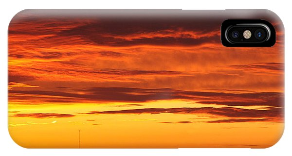 Winter Sky Phone Case by Paul Anderson