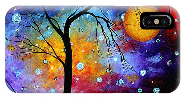Winter Sparkle Original Madart Painting IPhone Case