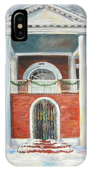 Gateway Arch iPhone Case - Winter Spirit In Dahlonega by Nicole Angell