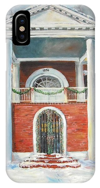Winter Spirit In Dahlonega IPhone Case