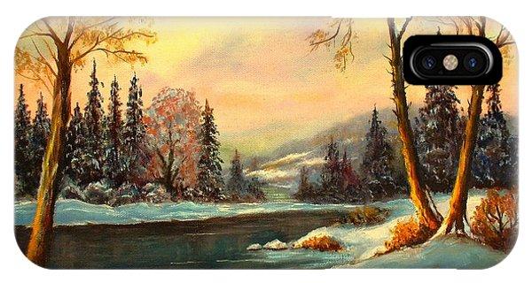 Winter Splendor IPhone Case