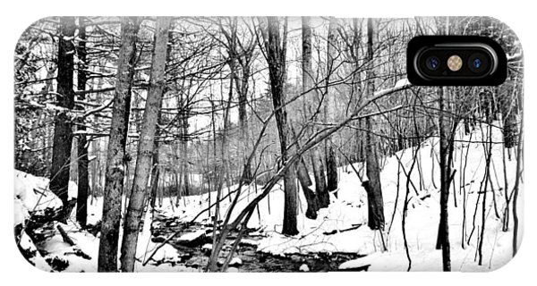 Winter Stream IPhone Case
