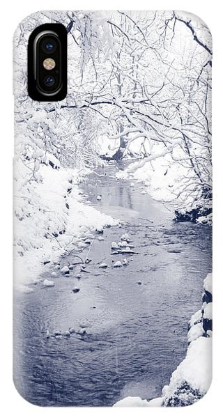 Winter Stream IPhone Case