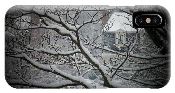 Winter Street IPhone Case