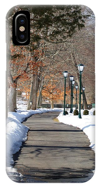 Winter Stroll IPhone Case