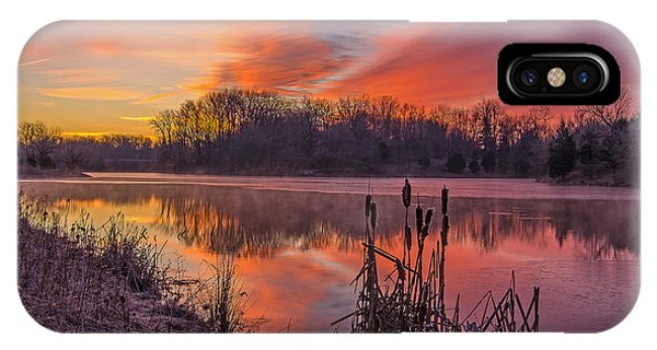 Winter Sunrise IPhone Case