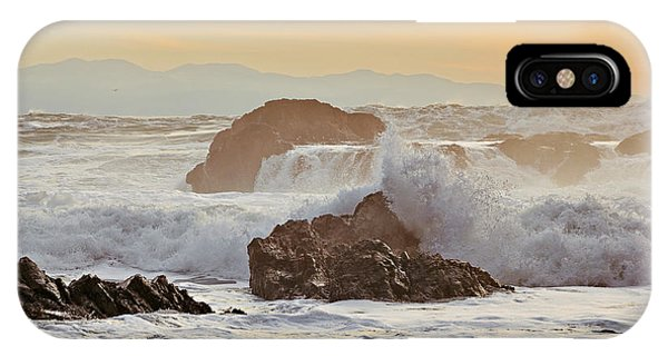 Winter Sunset At Port Renfrew IPhone Case