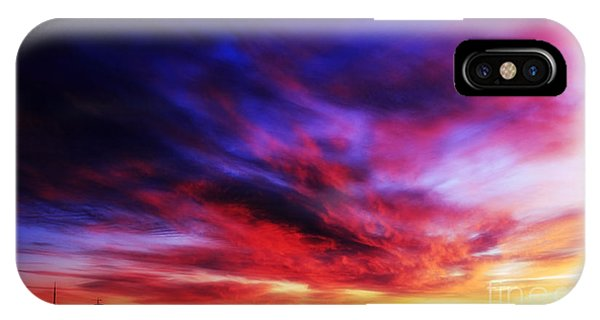 Winter Sunset IPhone Case