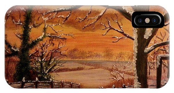 Winter Sunset  Lll IPhone Case