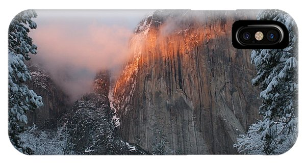 iPhone Case - Winter Sunset On El Capitan by Christine Jepsen