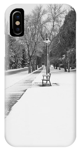 IPhone Case featuring the photograph Winter Walk by Fran Riley