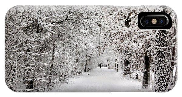Winter Walk In Fairytale  IPhone Case