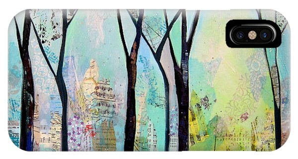 Lavender iPhone Case - Winter Wanderings II by Shadia Derbyshire