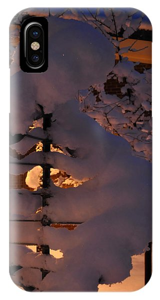 Winter Whirligig IPhone Case