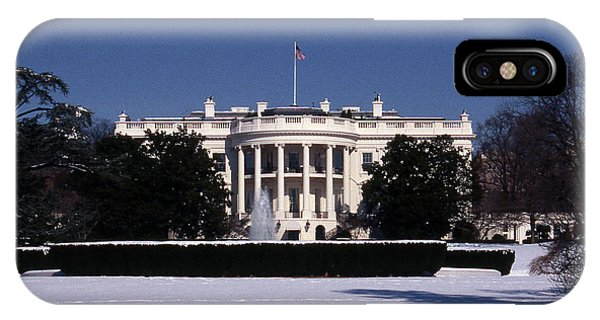Winter White House  IPhone Case