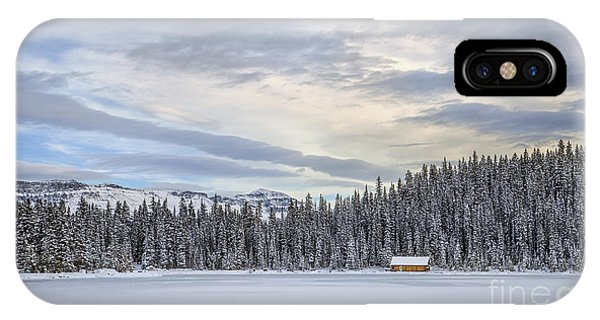 Banff iPhone Case - Winter Wonderland by Evelina Kremsdorf