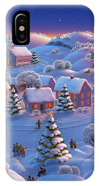 Americana iPhone Case - Winter Wonderland  by Robin Moline
