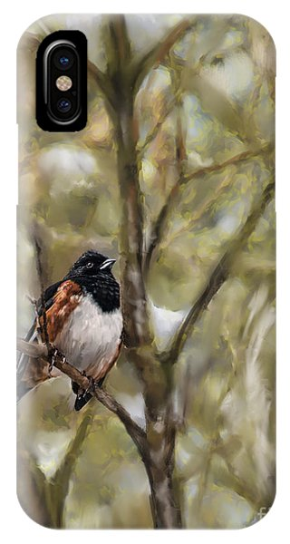 Winterbird IPhone Case