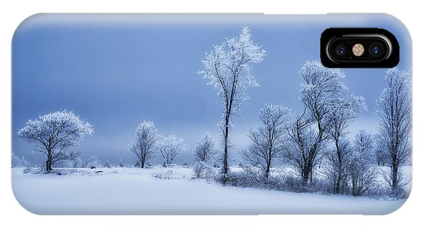Winter iPhone Case - Winterland by Christian Duguay