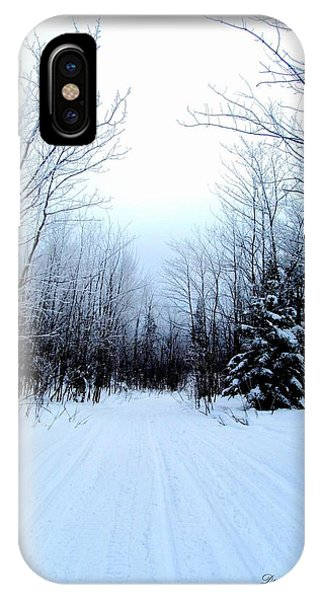 Winterlude In Abitibi Temiscamingue Quebec  IPhone Case