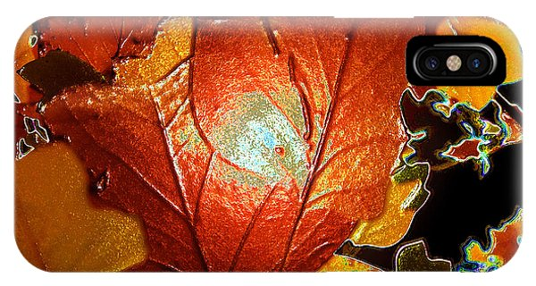 winters autumn in Pasadena IPhone Case