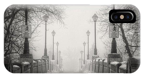Winters Bridge IPhone Case