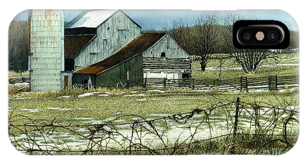 Winters End Prince Edward County IPhone Case