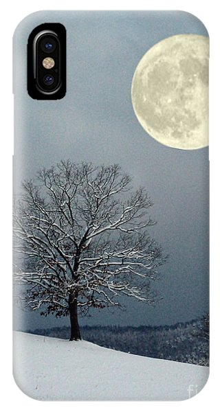 Winter's Moon IPhone Case