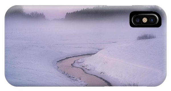 Winter iPhone Case - Winters Mystique by Christian Lindsten