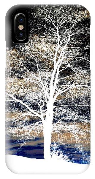 Winter's Night Sky IPhone Case