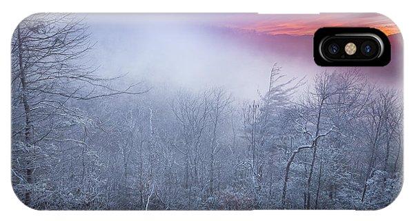Winter's Sunrise IPhone Case