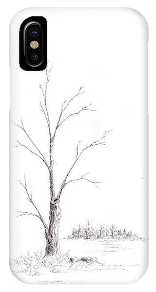 Winter's Tree IPhone Case