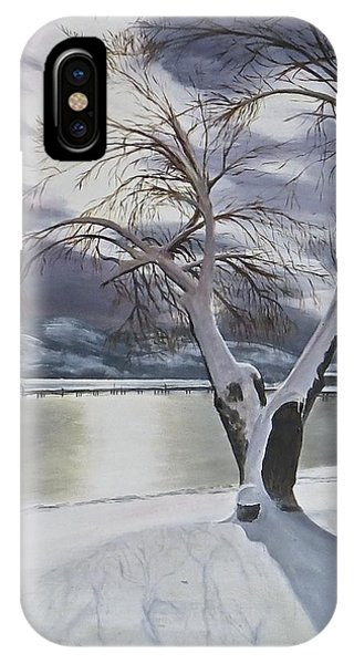 Winter's Whisper IPhone Case