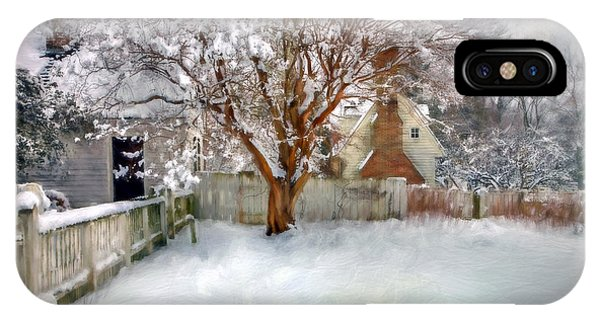Wintry Garden IPhone Case