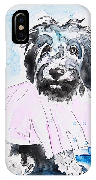 Wipe Your Paws IPhone Case