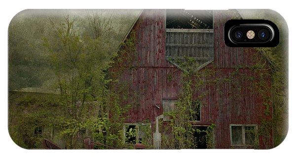 Wisconsin Barn 3 IPhone Case