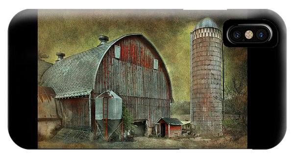 Wisconsin Barn - Series IPhone Case