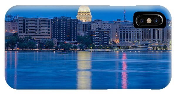 Wisconsin Capitol Reflection IPhone Case