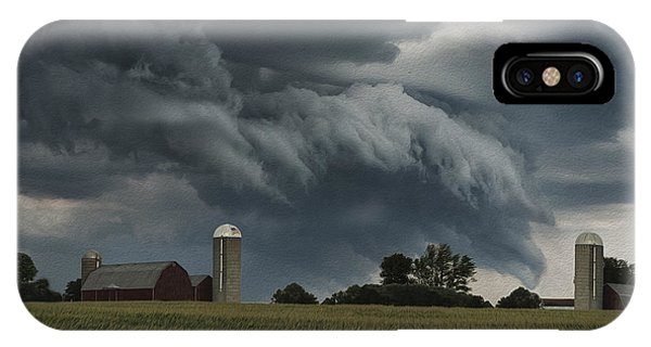 Wisconsin Farm IPhone Case
