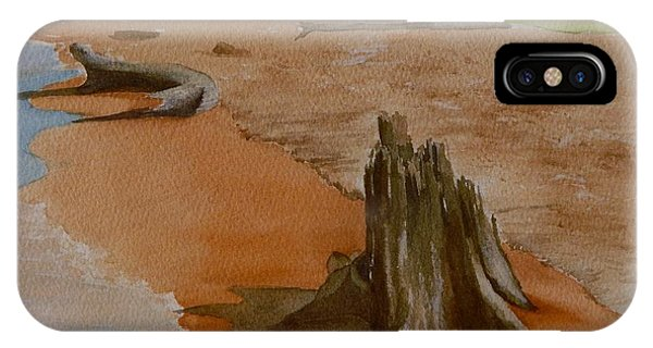 Wisconsin Point Beach IPhone Case