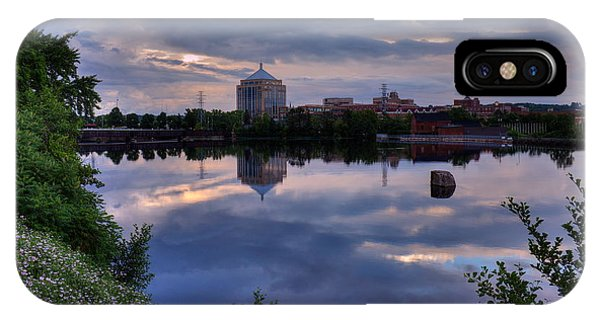 Wisconsin River Reflection IPhone Case