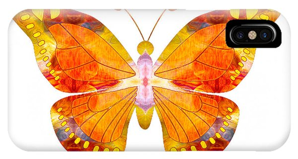 Wisdom And Flight Abstract Butterfly Art By Omaste Witkowski IPhone Case