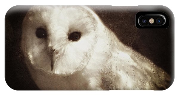 Wisdom Of An Owl IPhone Case