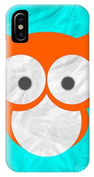 Wise Owl Phone Case by Henrietta Buwalda