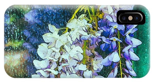 Wisteria  After The Rain IPhone Case